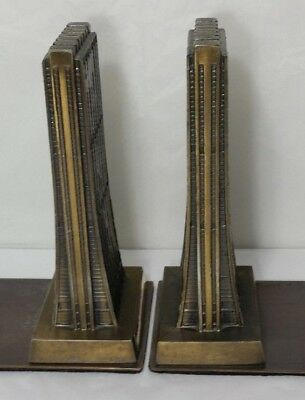 Mid Century Architecture CHICAGO CHASE TOWER Building Metal Art Design Vintage