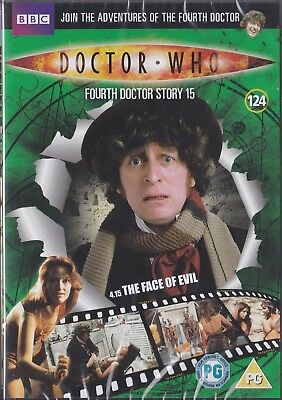 DOCTOR WHO DVD FILES 124 THE FACE OF EVIL tom baker SEALED dr CanPost10for£3.50