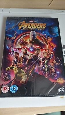 Avengers Infinity War Dvd New And Sealed