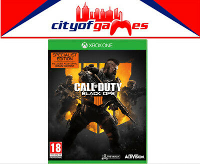 Call of Duty: Black Ops 4 Specialist Edition Xbox One Game Brand New In Stock