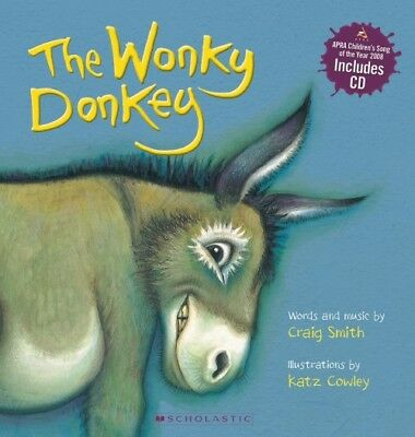 The Wonky Donkey (with CD) By Craig Smith FAST FREE SHIP