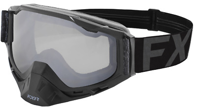 2019 FXR BOOST Snow Winter Sports GOGGLES - Black Ops with Clear Lens - ONE SIZE