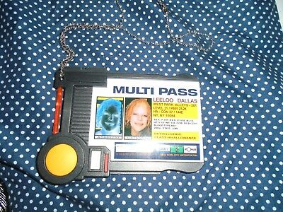 Loot Crate Multi Pass Multipass 5th Element Prop Cosplay Leeloo Free Shipping