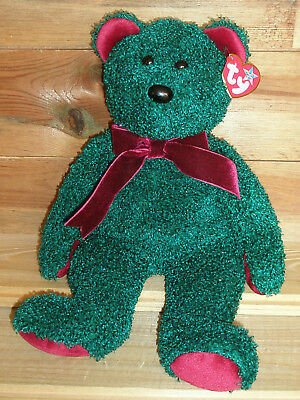 Ty Beanie Buddy 2001 Holiday Teddy, ca. 34 cm