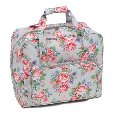 Sewing Machine Bag (Matt PVC) - Rose - Floral - Hobbygift - MR4660443