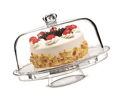 Rammento Multifunctional 5 in 1 Cake Stand and Dome. Wedding Cake Dome, Punch...