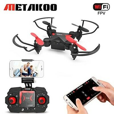 Mini RC Drone, Metakoo M2 Foldable Quadcopter for Kids Gift with FPV HD Camera