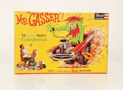 REVELL 'MR. GASSER!' 1963 Original model kit - BOX AUTOGRAPHED by BIG DADDY ROTH