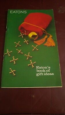 Eaton's CATALOG Nov 1975  in NrMINT condition  108 pages