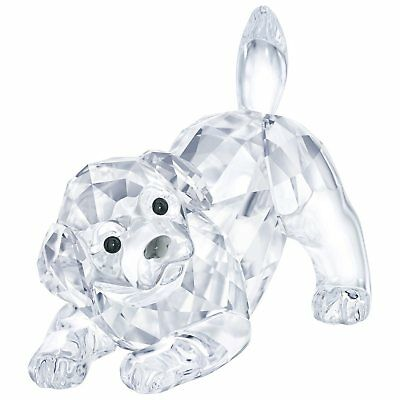 Swarovski Crystal LABRADOR PUPPY PLAYING 5408608 New 2018