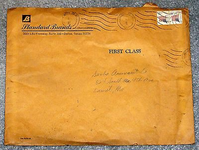 1980 Sambo Amusement Co. Original Envelope - Civil Rights History Significance