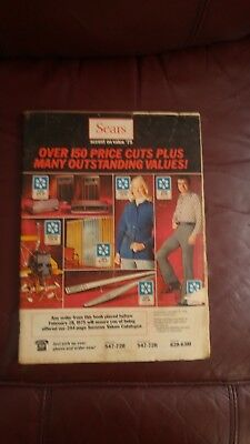 SEARS  CATALOG CANADIAN  1975 in GOOD condition  96 pages