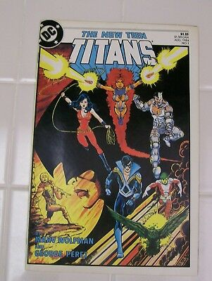 DC The New Teen Titans #1, 1984