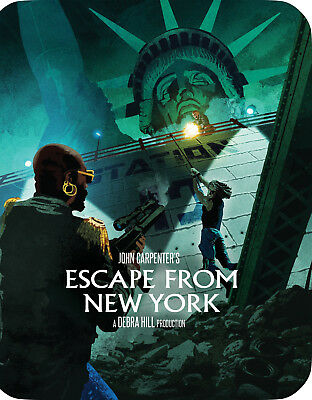 Escape From New York - Limited Edition Steelbook [Blu-ray] New and Sealed!!