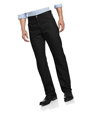 4f98b3235e586d Dickies Mens Slim Straight-Fit Lightweight Five-Pocket Twill Pant WP808  Clothing