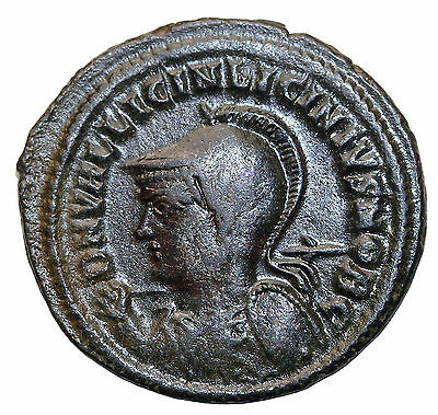 Licinius II Junior 317-324 AD AE Follis Heraclea Mint Ancient Bronze Coin RIC.54