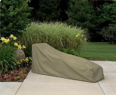 Chaise Lounge Patio Furniture Cover | Waterproof Outdoor Protection | Oversized