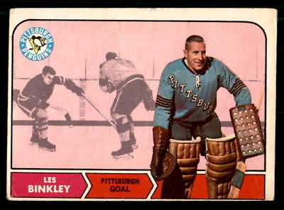 1968-69 O-Pee-Chee #100 Les Binkley Penguins Rookie VG-EX (ref 34000)