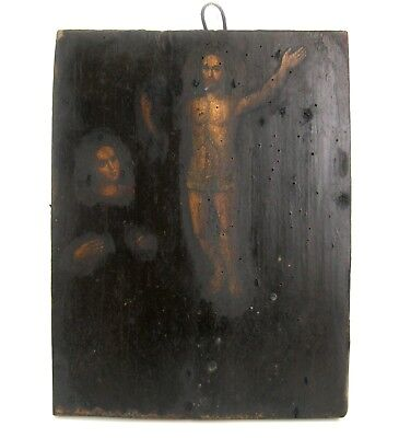 Original Icon Resurrection of Christ Orthodox Russian Empire Wood 290 x 230 mm