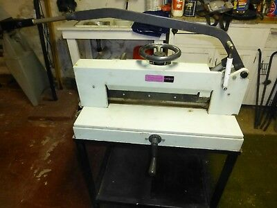 Triumph Stack paper Cutter Guillotine heavy commercial duty print shop 18-1/2""