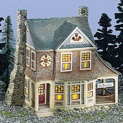 Dept 56 Seasons Bay ~ The Side Porch Cafe ~ Mint In Box 53303