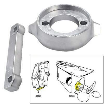 Tecnoseal Anode Kit Volvo 280 with Hardware Magnesium Polybag #20701MG