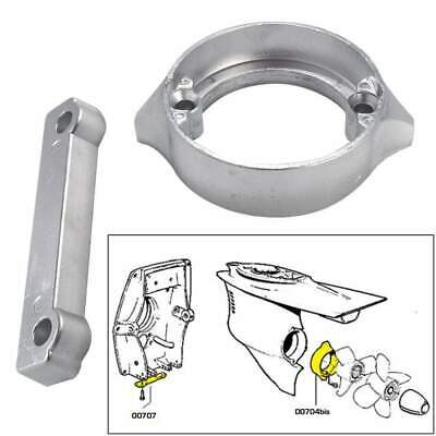 Tecnoseal Anode Kit Volvo 280dp with Hrdwr Magenesium Poly #20702MG