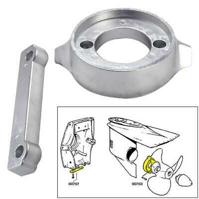 Tecnoseal Anode Kit Volvo 280 with Hardware Aluminum Polybag #20701AL