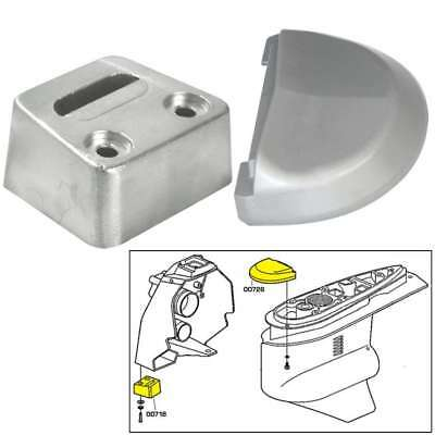 Tecnoseal Anode Kit Volvo Sx with Hardware Aluminum Polybag #20708AL