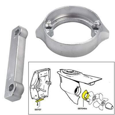 Tecnoseal Anode Kit Volvo 280dp with Hardware Zinc Polybag #20702