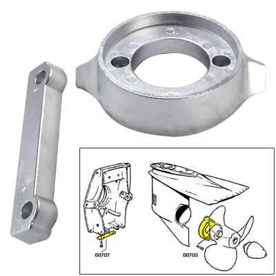 Tecnoseal Anode Kit Volvo 280 with Hardware Zinc Polybag #20701