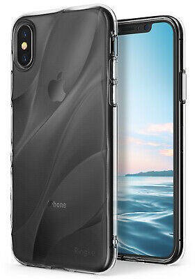 For iPhone XS | Ringke [WAVE] Shockproof Dual Layer PC TPU Design Case Cover