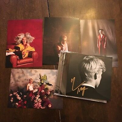 Troye Sivan Bloom CD With Autographed Card And 4 Art Cards