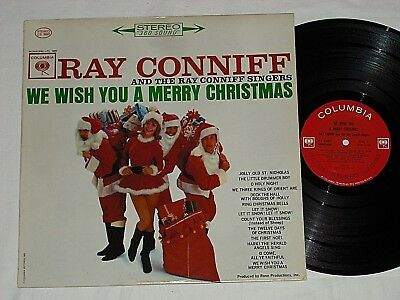 ray conniff we wish you a merry christmas 1962 stereo columbia lp - Ray Conniff Christmas