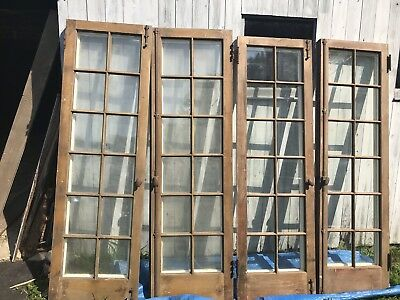 Pair Vintage French Doors