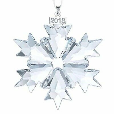 Crystal 2018 ANNUAL EDITION LARGE CHRISTMAS ORNAMENT Year XIANGBAN