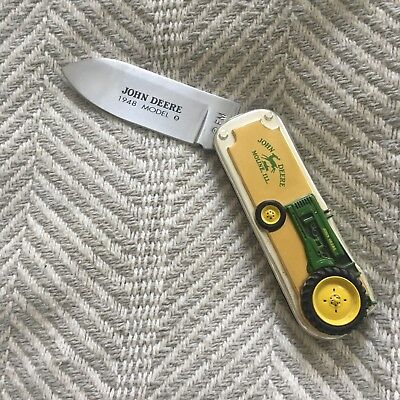 John Deer 1948 Model Collectible Pocket Knife Franklin Mint EUC!