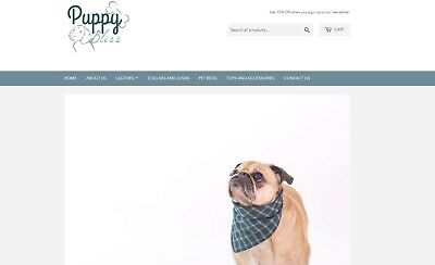 Highly Profitable Puppy Pet Dog Store Commerce Dropshipping Website Business
