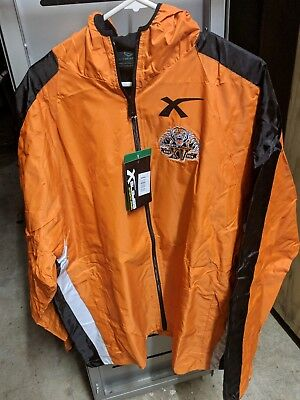Wests Tigers NRL Spray Wet Weather Jacket Size 3XL Rugby League Jersey Football