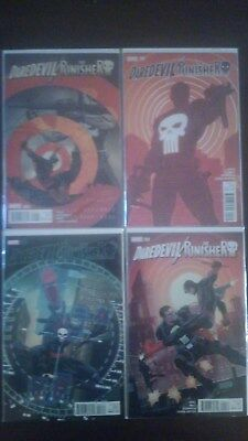 Daredevil/Punisher # 1-4 Complete Marvel Comic Set, Seventh Circle Story, NM
