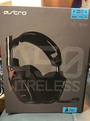 Astro A50 Wireless Gaming Headsets Multi-Platform (Xbox, PS3, PC, Etc) No Mixamp