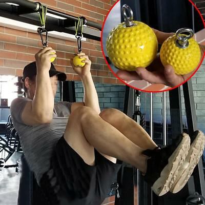 Body-Solid Cannonball Grip Balls Pull-Up Fitness Equipment Training Ball Barbell