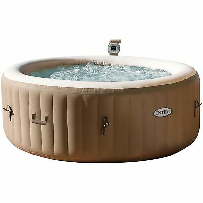 Intex Pure SPA 77 Bubble Massage, Ø 196cm, Schwimmbad, braun
