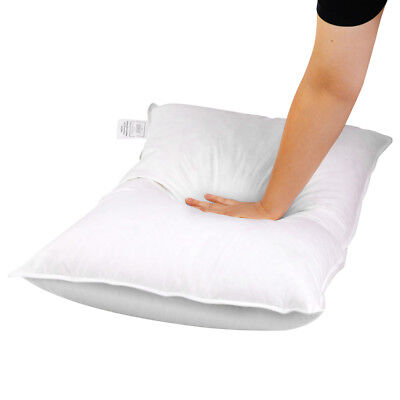 2X Bedroom Duck Feathers Non-live plucked Down Sleeping Pillow With Storage Bag