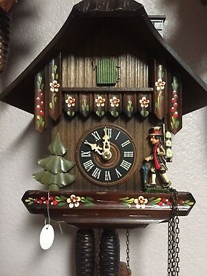 Cuckoo Clock 1 day Chimney Sweeper