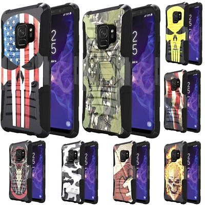 For Samsung Galaxy Note 9 Holster Case Belt Clip Combo Kickstand Phone Cover