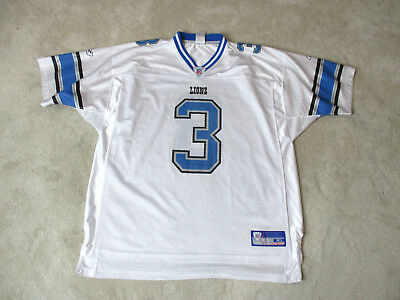 35bd263edb9 Reebok Joey Harrington Detroit Lions Football Jersey Adult Extra Large  White NFL