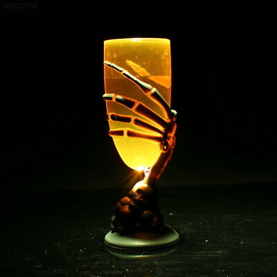 F281 Spooky Scary Luminous LED Cup Goblet SKull Claw Skeleton For Halloween