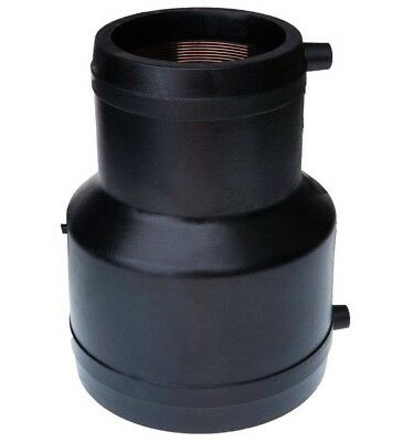 Friatec ELECTROFUSION REDUCING COUPLER Black PE SDR11- 160x110mm Or 225x160mm