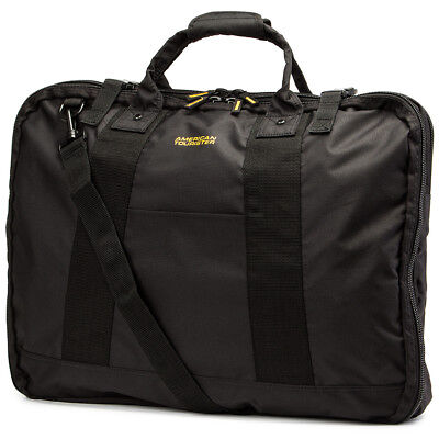 NEW American Tourister Smart Garment Bag Black & Yellow